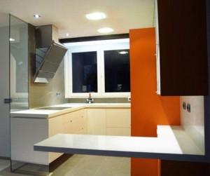 Rehabilitacion de cocinas - Cocina lacada en Barcelona Interior Studio.