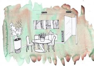 Remodelacion de comedor - Interiorismo en Barcelona Interior Studio