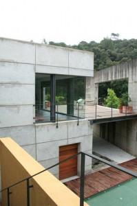 Integración de espacios interior-exterior. Interiorismo en Barcelona. Diseño de exteriores.