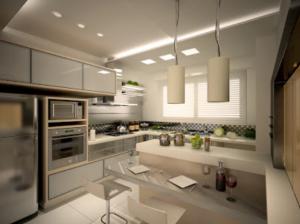 La Iluminación en decoración de cocinas