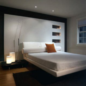 Iluminación creativa para decoración de dormitorios